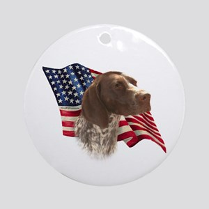 GSP Flag Ornament (Round)