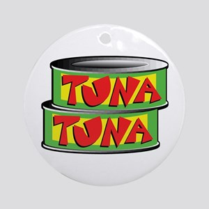 Tuna Ornament (Round)