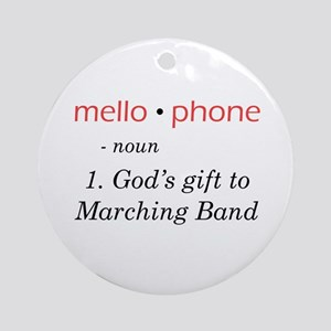 Definition of Mellophone Ornament (Round)