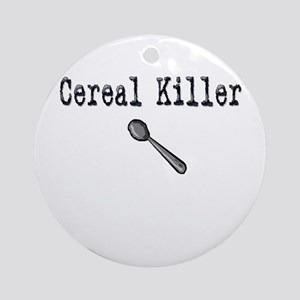 Buy Cereal Killer Funny shirt Ornament (Round)