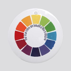 True Colors (US) Ornament (Round)