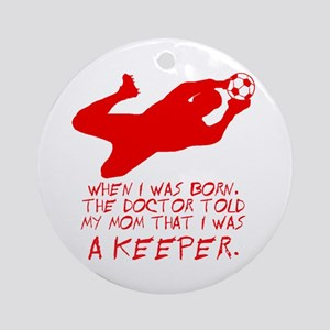Keeper Ornament (Round)