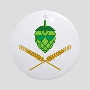 Pirate Hops Ornament (Round)