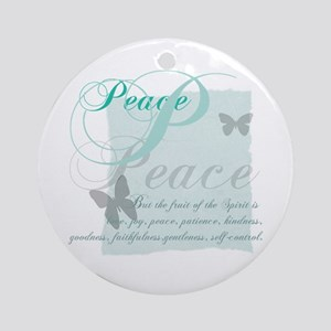 Spirit Fruits: Peace Ornament (Round)