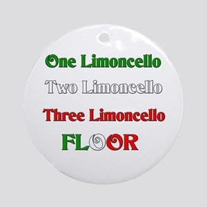 Limoncello Ornament (Round)
