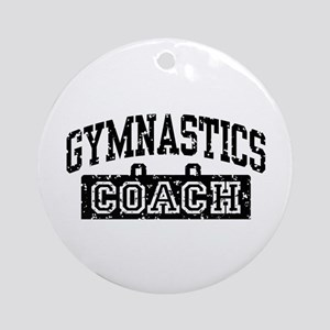 Gymnastics Coach Ornament (Round)