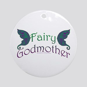Fairy Godmother Ornament (Round)