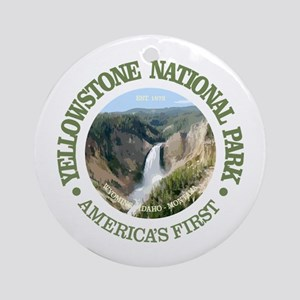 Yellowstone NP Round Ornament