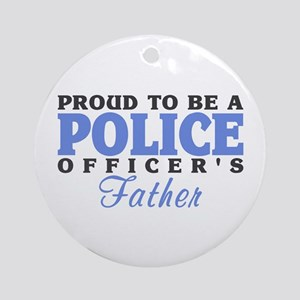 Officer's Father Ornament (Round)