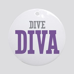 Dive DIVA Ornament (Round)