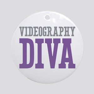 Videography DIVA Ornament (Round)