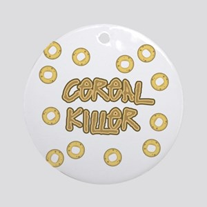 Cereal Killer Ornament (Round)