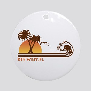 Key West Ornament (Round)