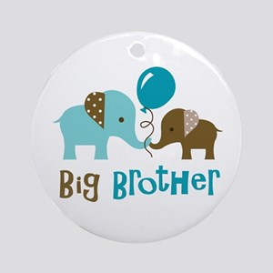 Big Brother - Mod Elephant Ornament (Round)