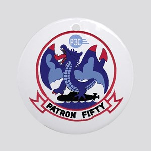 VP 50 Blue Dragons Ornament (Round) Ornament (Roun