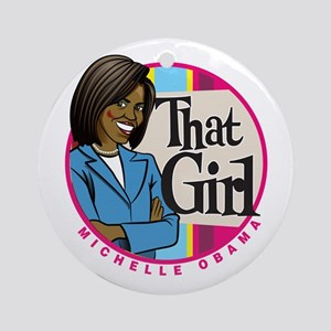That Girl! Ornament (Round)