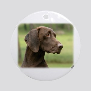 German Shorthaired Pointer 9Y163D-159 Ornament (Ro