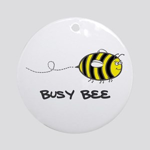 'Busy Bee' Ornament (Round)