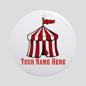 Circus Time Round Ornament