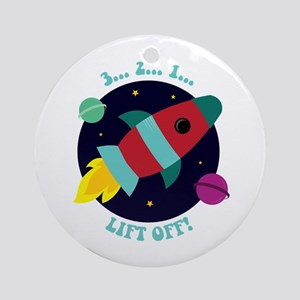 Lift Off Ornament (Round)