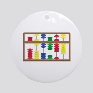 Abacus Ornament (Round)