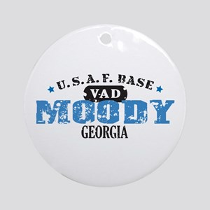 Moody Air Force Base Ornament (Round)