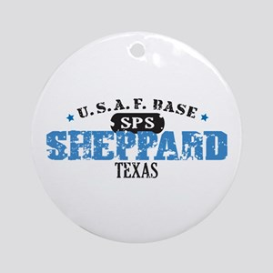 Sheppard Air Force Base Ornament (Round)