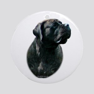 Brindle 12 Ornament (Round)
