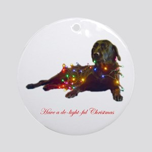 delightful Ornament (Round)