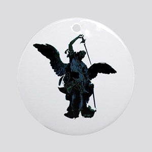 Powerful Angel Ornament (Round)