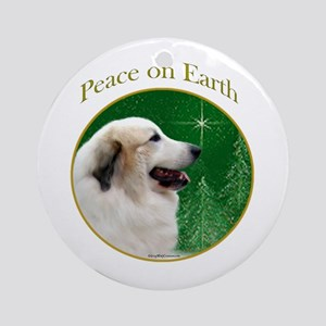 Pyr Peace Ornament (Round)