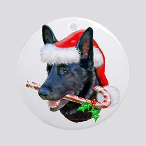 Black Shep Ornament (Round)