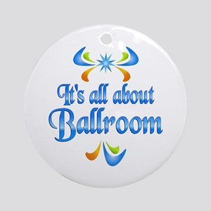 About Ballroom Ornament (Round)