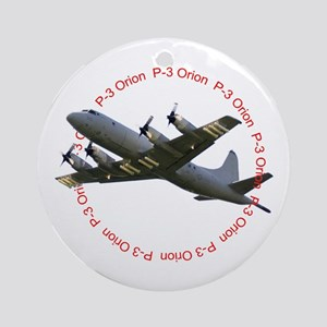 P-3 Orion Ornament (Round)