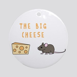 The Big Cheese Ornament (Round)