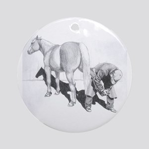 FARRIER Ornament (Round)