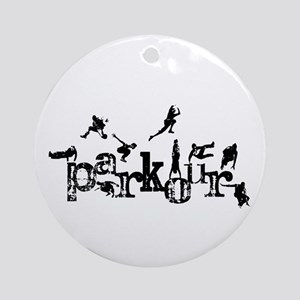 Parkour Ornament (Round)