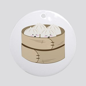 Dumplings Ornament (Round)