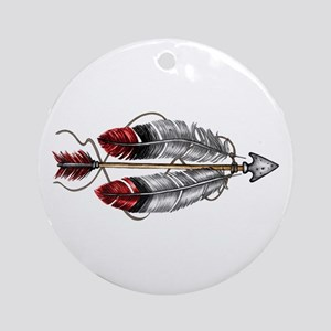 Order of the Arrow Ornament (Round)