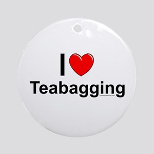 Teabagging Ornament (Round)