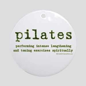 Pilates Spirit Ornament (Round)