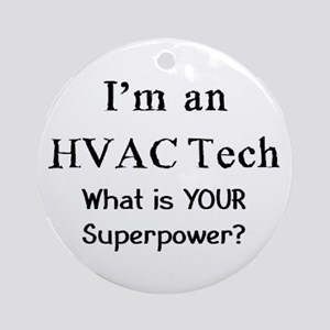 hvac tech Ornament (Round)