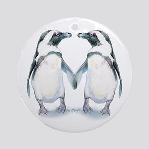 Penguin Pals Ornament (round)