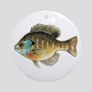 Bluegill Bream Fishing Christmas Ornament
