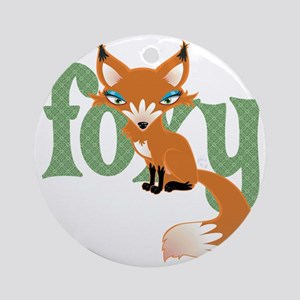 Foxy Red Ornament (Round)