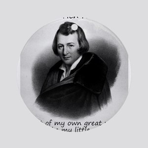 Out Of My Own Great Woe - Heinrich Heine Round Orn