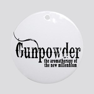 Gunpowder Gun Humor Ornament (Round)