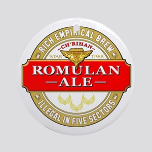 romulan ale Round Ornament