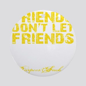 DNF - Yellow Round Ornament