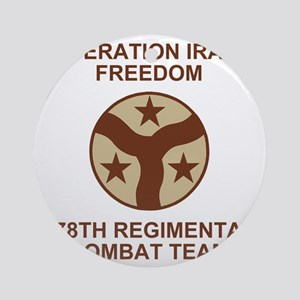 ARNG-278th-RCT-Iraqi-Freedom-Subdue Round Ornament